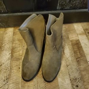 Tan Nine West Booties Ankle Boots